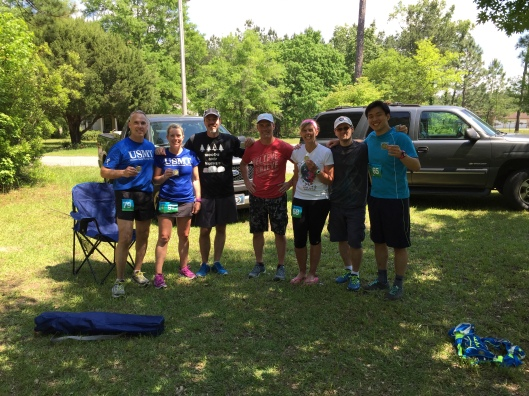 Wambaw Swamp Stomp 50K Finishers
