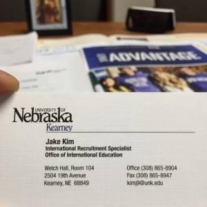 First business card!